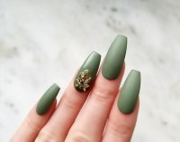 Matte fake nails | Etsy