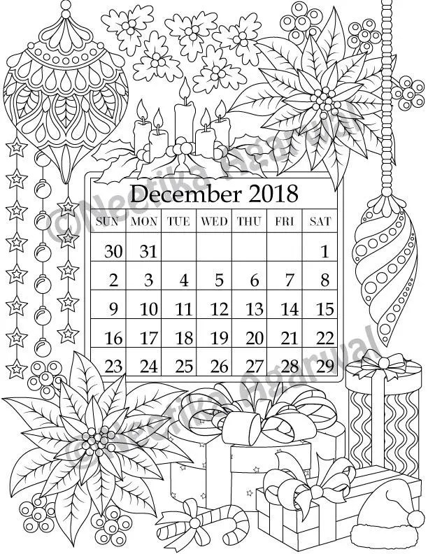 Creative Coloring Pages for Adults by NeetikaA on Etsy