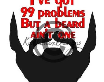 Download Beard svg, I love my fuzzy daddy, svg, dfx, studio3, cut ...