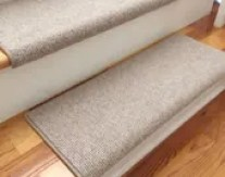 Bristol Linen New Zealand Wool!-Carpet Stair Tread (Sold Each)
