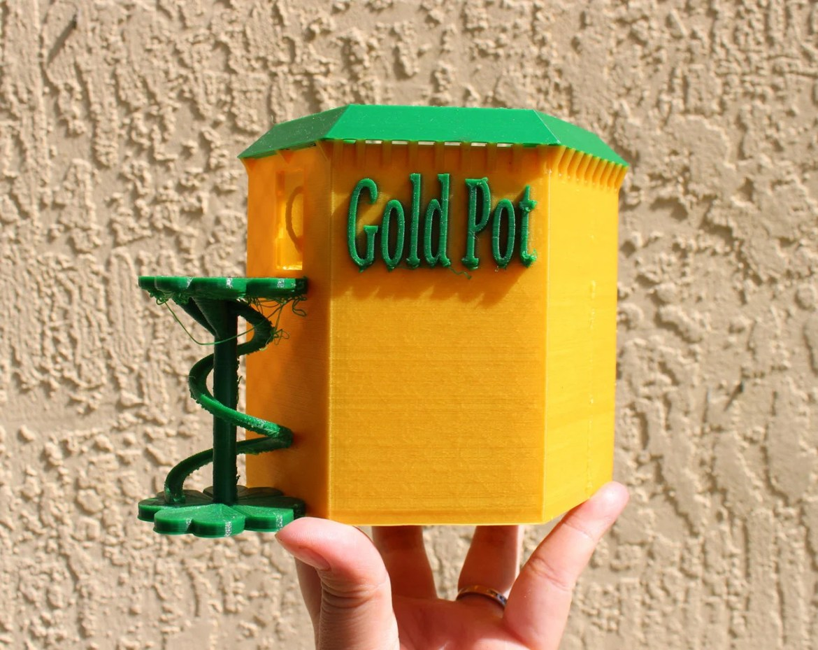 Lucky Leprechaun Gold Pot...