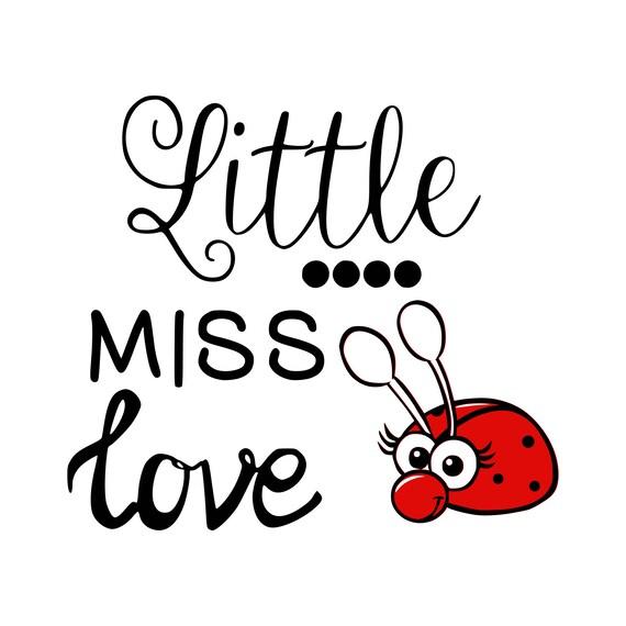 Download Love bug svg Little miss love svg Bug svg Valentines day svg