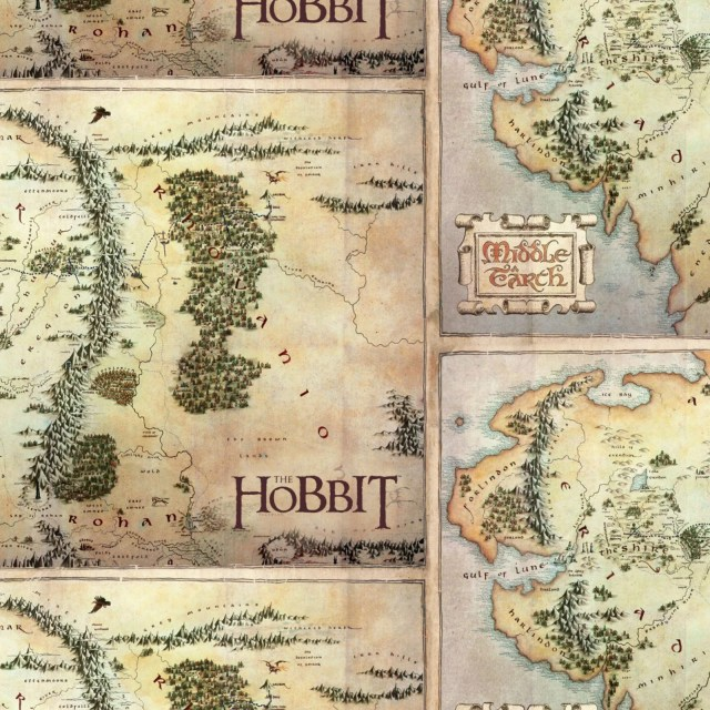 Hobbit Fabric, Lord of th...