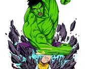 """Hulk vs Saitama 11"""" ..."""