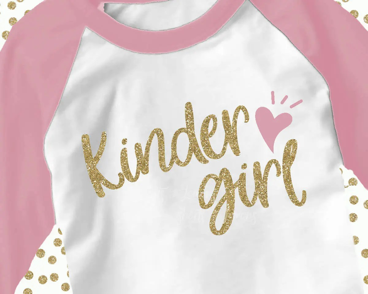 Kindergarten Svg Kindergarten Shirt Kinder Girl Svg Back To