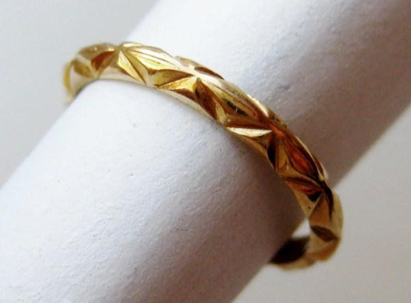 Infant Baby Rings Gold