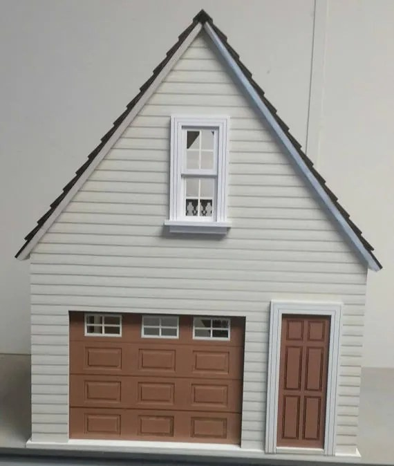 Lansdowne 112 scale Dollhouse ONE car garageworkshop