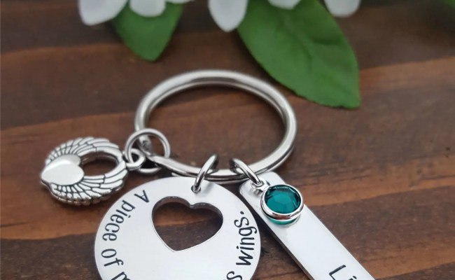 Personalized Memorial Gift For Lost Loved Ones Bereavement