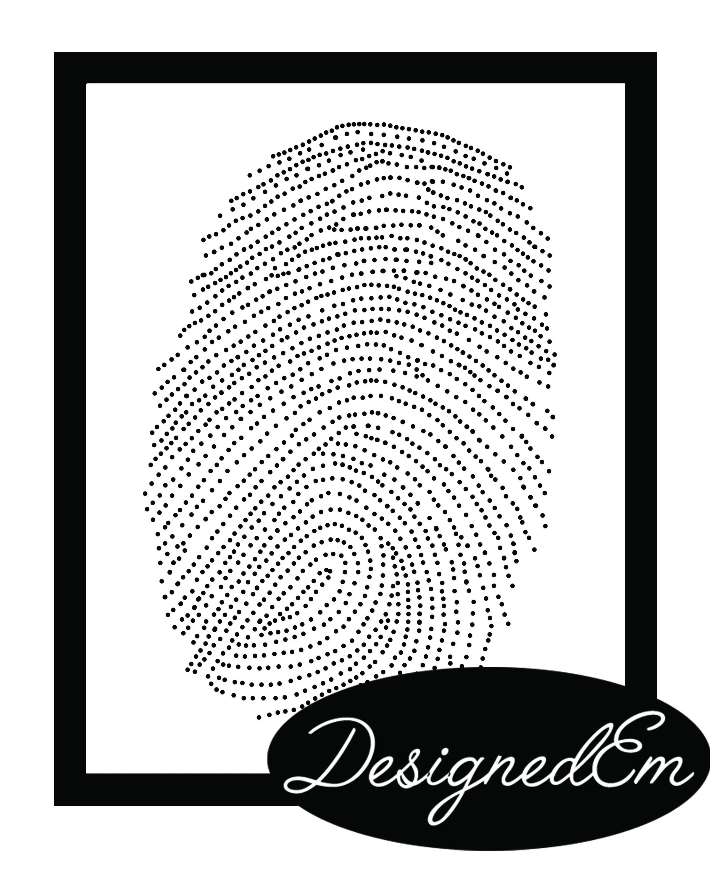 THUMBPRINT ART / teacher gift / classroom party activity / DIY