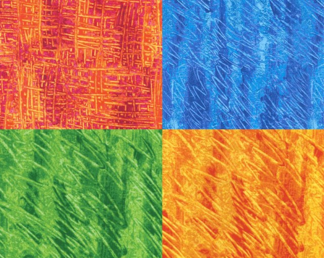 Finger paint Fabric - fro...