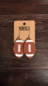 Leather football | Etsy