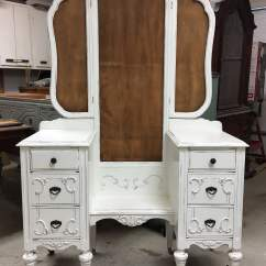 Purple Makeup Vanity Chair Conference Room Table And Chairs Set Antique 1920 39s Sligh Brand In Stock