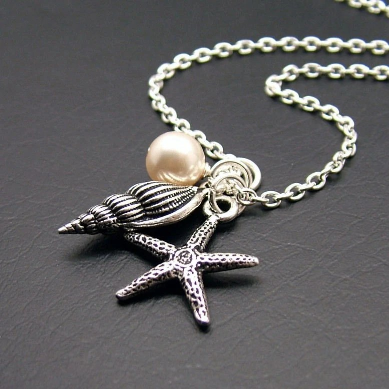 Beachcomber Starfish Necklace