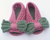 Crochet PATTERN  BABY Shoes Baby Bow Peeptoe Sandals