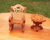 Tiny Tim furniture