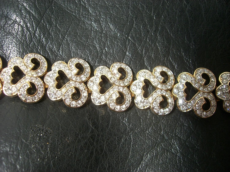 Swarovski Crystal VINTAGE  Bracelet...BLING...BLING