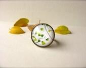 Fine Art Photography Ring - Autumn Leaves Forever