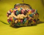 Coin Purse Crochet Ruffles
