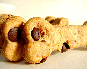 "Dalmation Bars-Dog Treats-Peanut Butter Swirl & ""Chocolate"" Carob Chips--10ct"