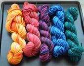 Mini Skein Set: Rainbow