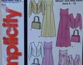 Simplicity 5637 Pattern for Misses' and Miss Petite Dress, Jacket, and Purse in Sizes 8 - 18