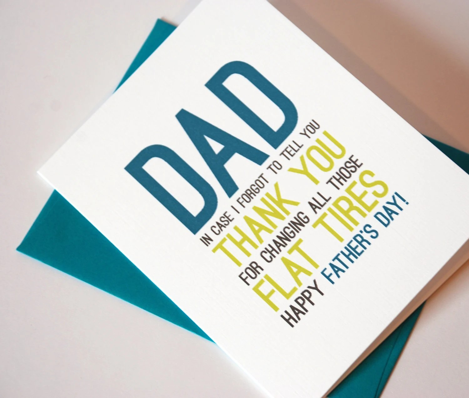 Father's Day Card - Funny Card for Dad - Happy Father's Day - RowHouse14