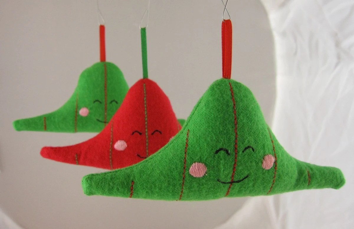 normal distribution ornament