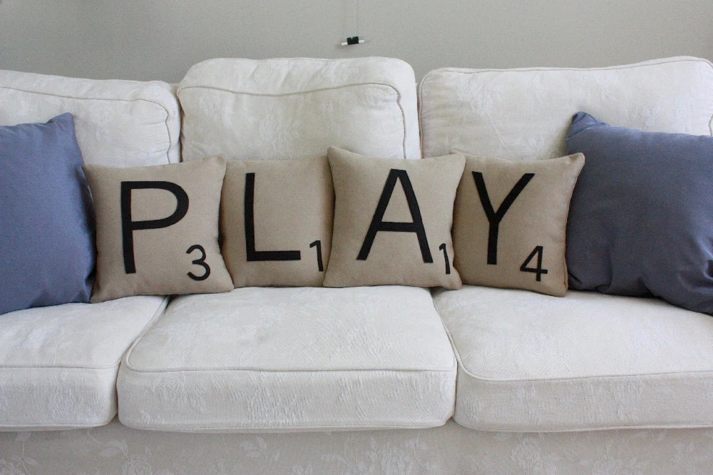 PLAY Letter Pillows - CASES ONLY