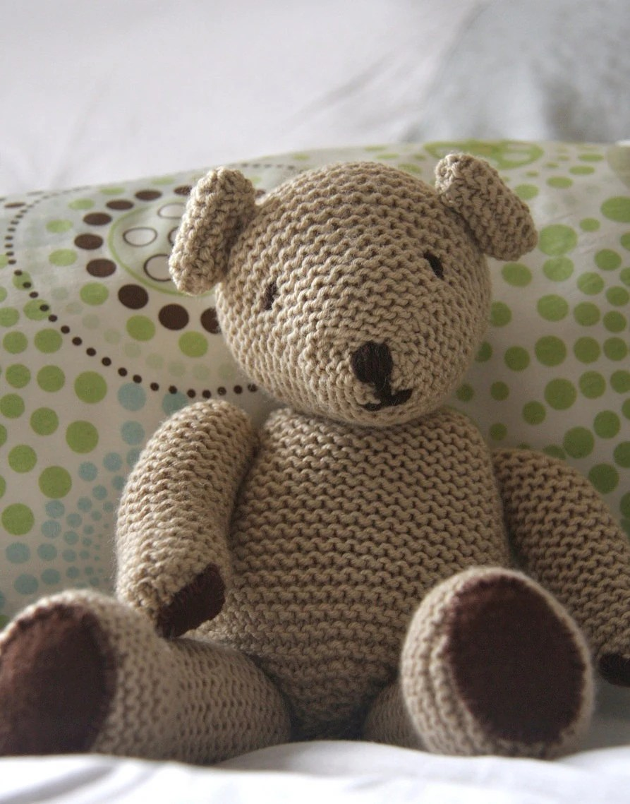 Handmade Cuddly Cashmere Ted