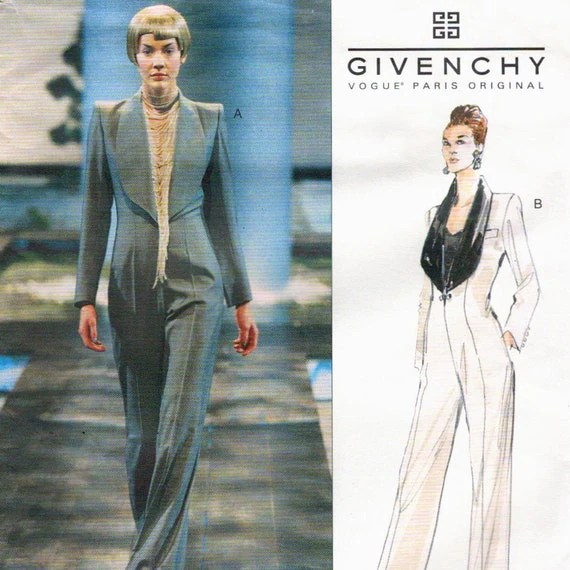 Givenchy by Alexander McQueen pattern, Vogue 2343