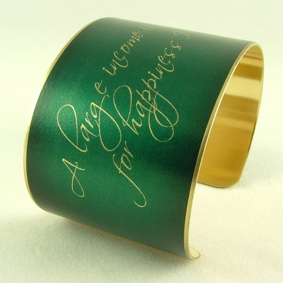 funny austen jewelry