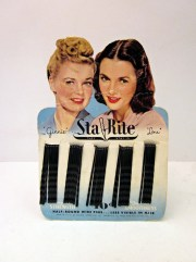 Vintage Carded Bobby Pins - Set of 3