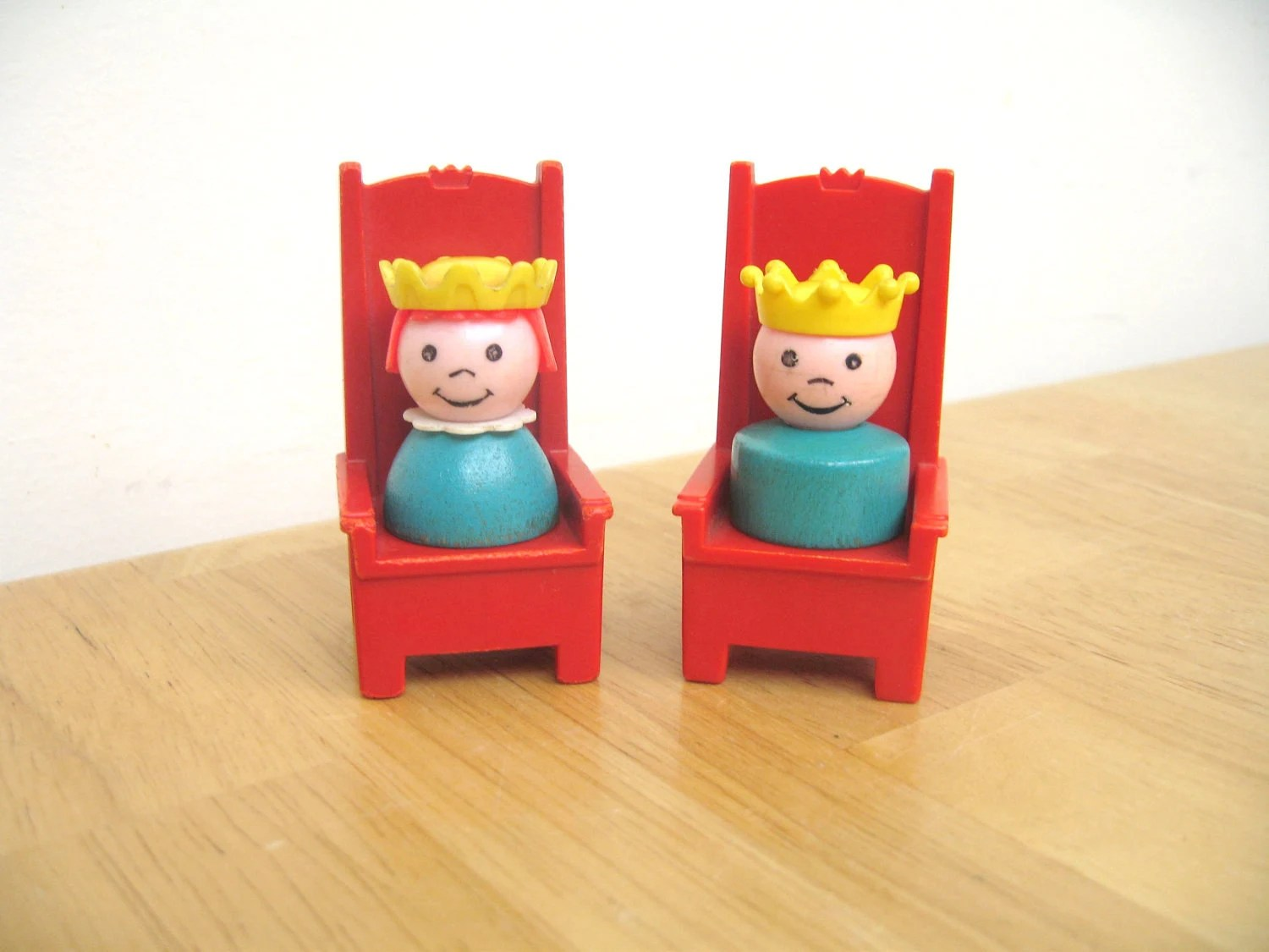 Vintage Fisher Price Prince, Princess and Thrones