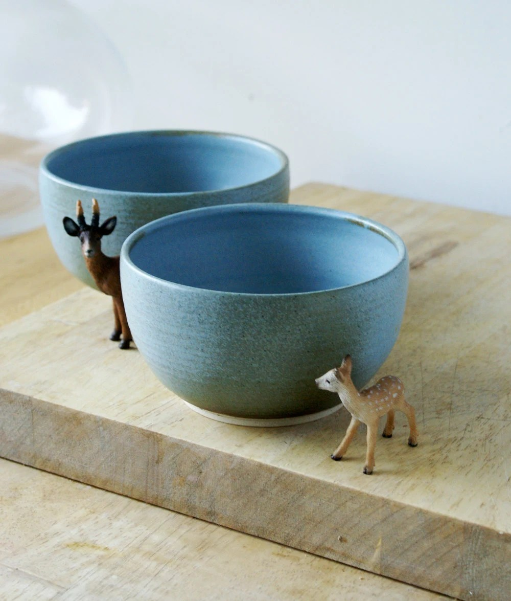 Lovely bowls from Little Wren Pottery