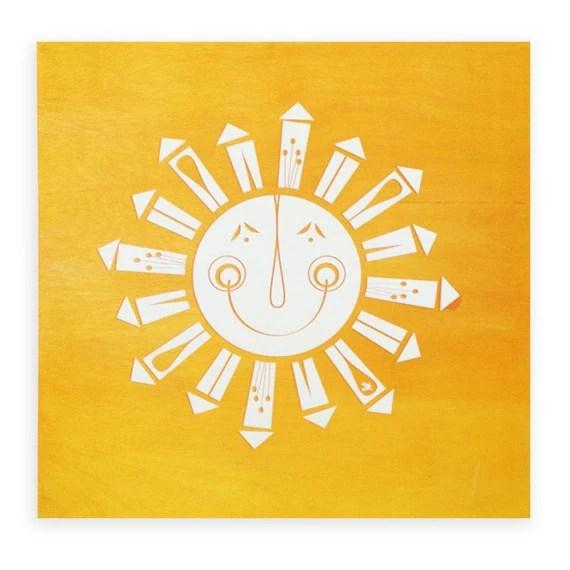 Brighten your home with a little sunshine Art - skartshop