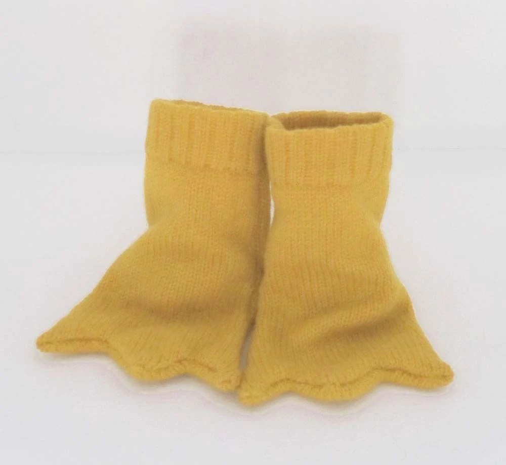 Knitted Bird Feet Booties - The Miniature Knit Shop