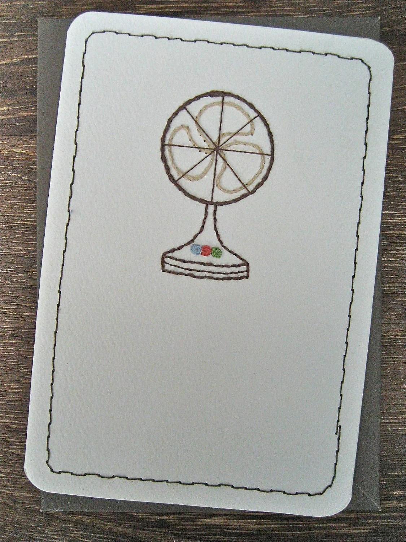 Electric Fan card - Leobella Boutique