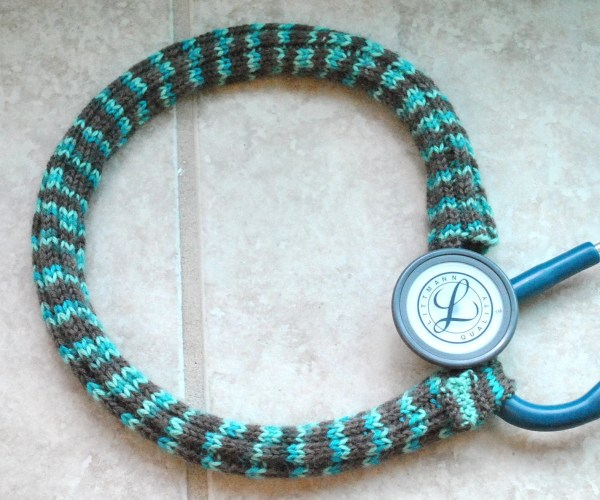 Knitted Stethoscope Cover Pattern