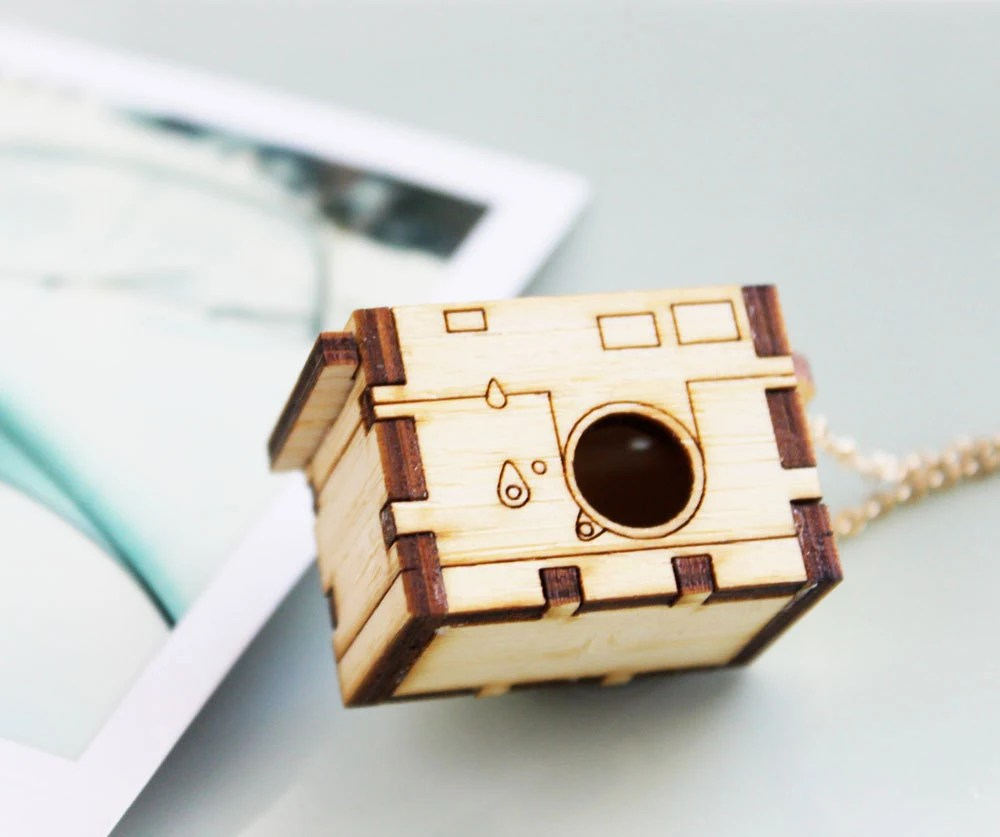 Leica M3 Camera Locket Necklace - Iluxo