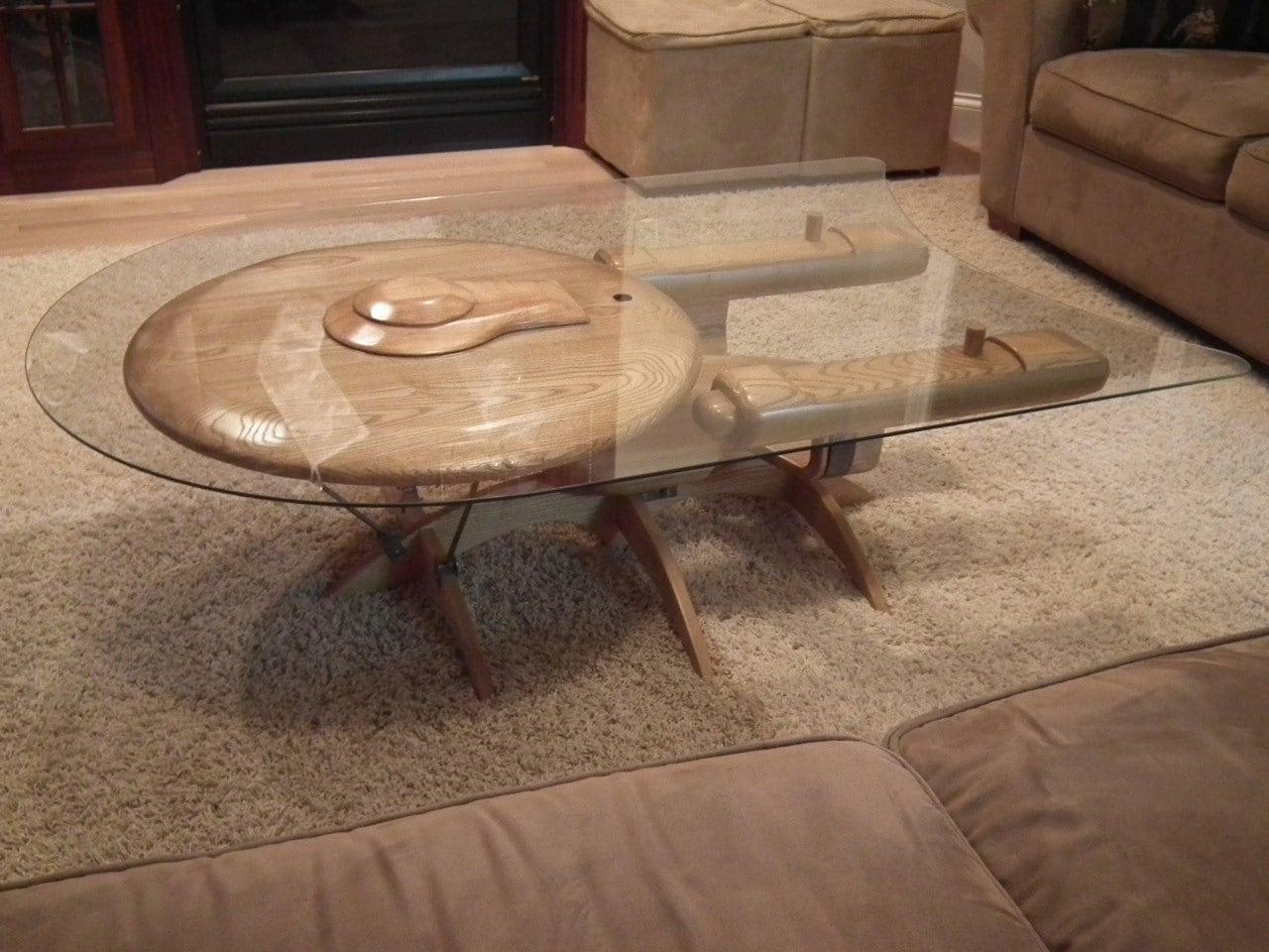 Star Trek Enterprise coffee table
