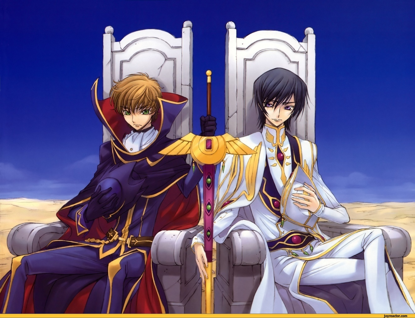 Pix   Lelouch Code Geass Suzaku  Lol Funny Anime Photo Lelouch And