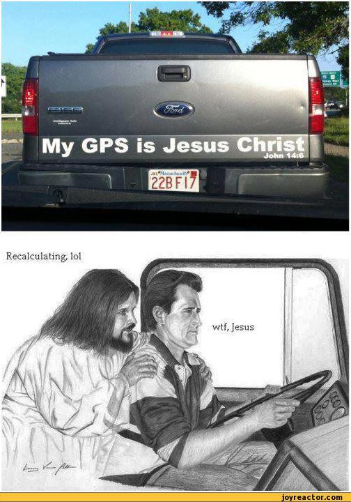 Take Jerk Wheel Jesus