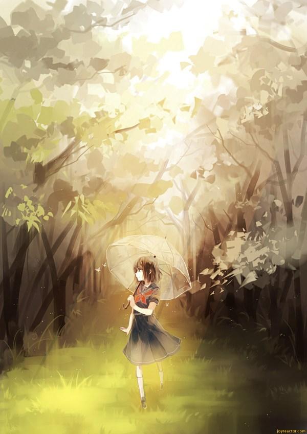 Beautiful Anime Girl Art