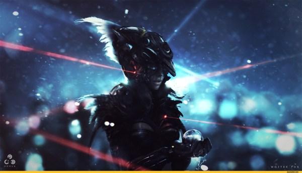 Horus Sci-fi Wojciechfus Art Beautiful