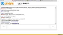 New omegle type site