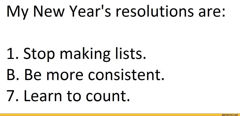 jazztruth: Resolutions