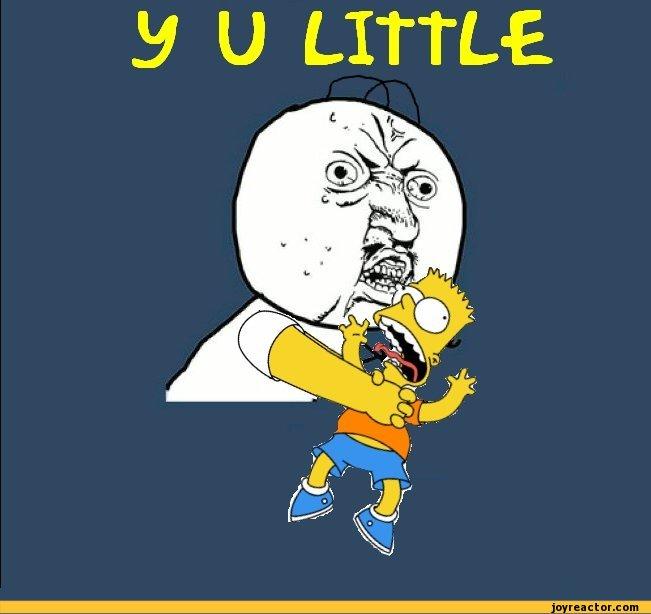 y u little bart