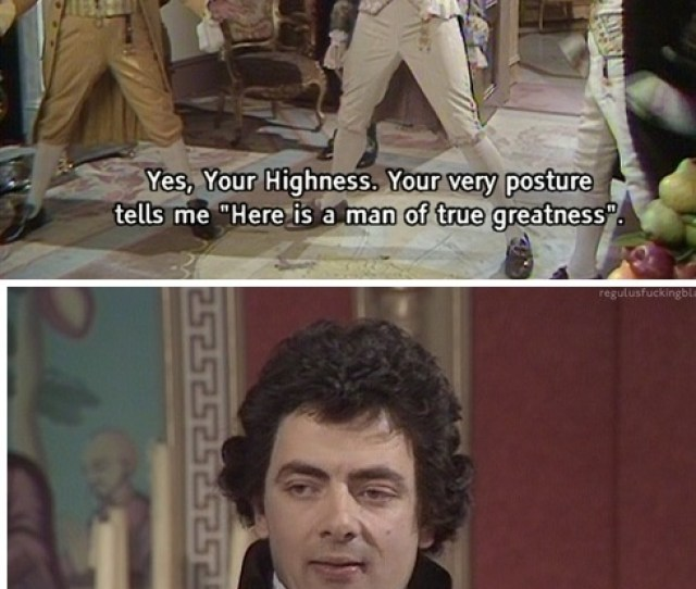 Blackadder Tv Show Comedy Funny Pictures Best Jokes Comics Images Video Humor Gif Animation I Lold
