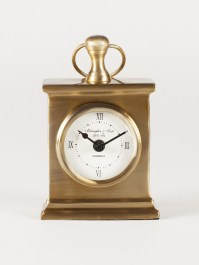 Vintage Gold Table Clock