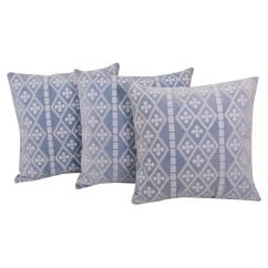 Velvet Sofa Fabric Online India Build A Dallas Buy Set Of 3 Cushion Cover By Reme Shopping For Covers In 12849609